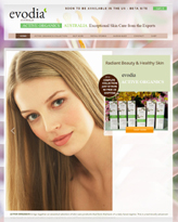 Evodia Active Organics US Site